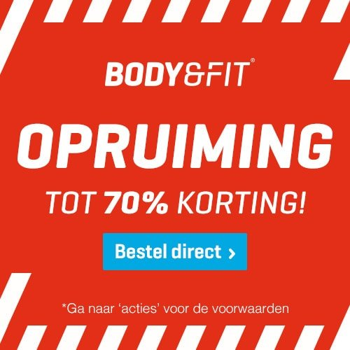 Body & Fit korting sale