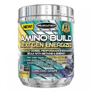 Amino Build Next Gen Energized van Muscletech