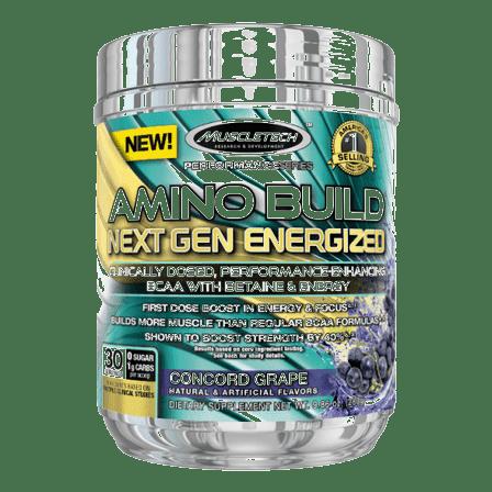 Amino Build Next Gen Energized van Muscletech