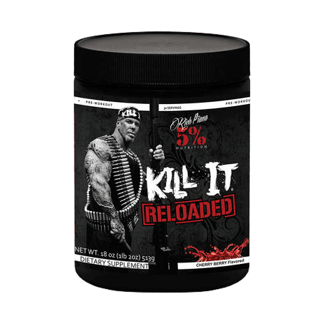 Kill It Reloaded Pre Workout van 5% Nutrition Rich Piana