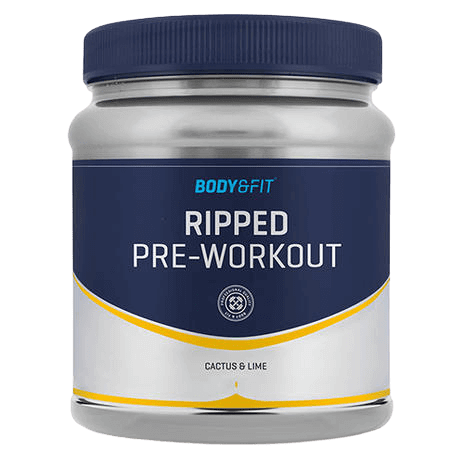 Ripped pre workout van Body & Fit