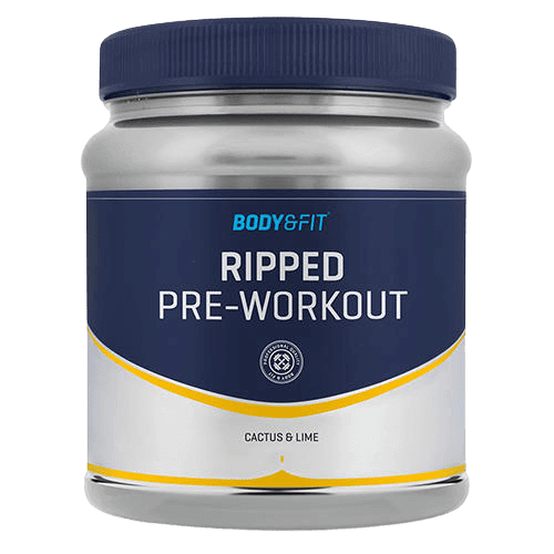 Ripped Pre Workout van Body en Fit