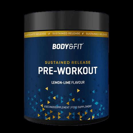 Sustained Pre Workout van Body en Fit