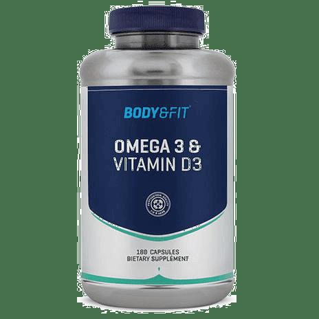 Body & Fit Omega 3 & Vitamine D3 capsules