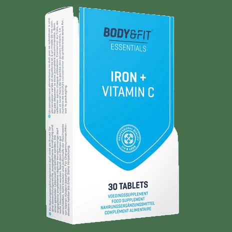 Body & Fit IJzer + Vitamine C tabletten