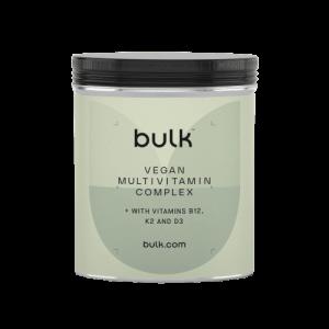 Bluk Vegan Multivitamine Complex met Vitamine B12, K2 en D3