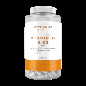 MyProtein Vitamine D3 en K2 capsules