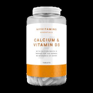 MyProtein Calcium & Vitamin D3 Tabletten