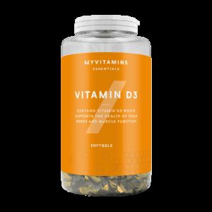 MyProtein Vitamine D3 softgels