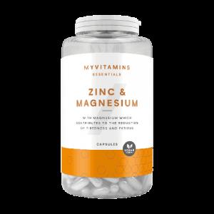 MyProtein Zinc & Magnesium capsules