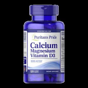 Puritan's Pride Calcium Magnesium en vitamine D3