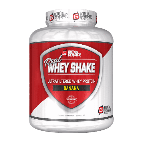 Real Whey Shake van Body en Gym Shop