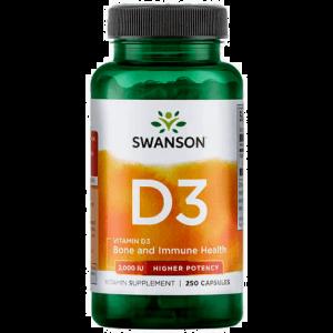 Swanson D3 capsules