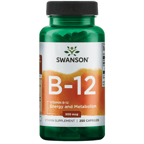 Vitamine B12 500mcg van Swanson