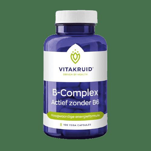 B-Complex Actief zonder B6
