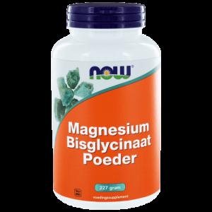 Magnesium Bisglycinaat Poeder van Now Foods