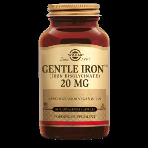 Gentle Iron Bisglycinate 20mg Solgar