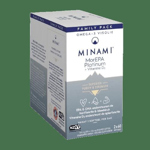 Minema MorEPA Platinum + Vitamine D3